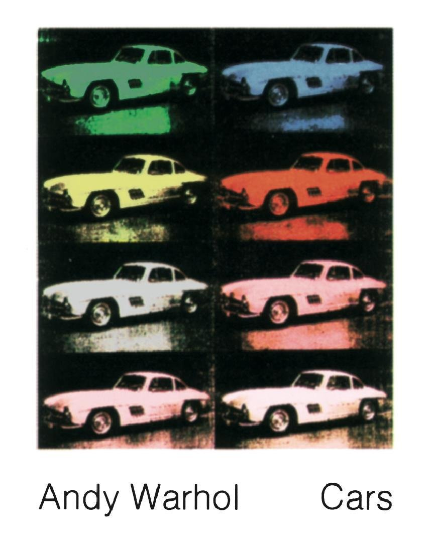 8 Assorted Andy Warhol Car Posters - 5