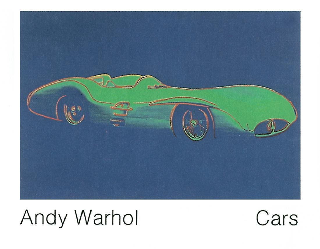 8 Assorted Andy Warhol Car Posters - 6