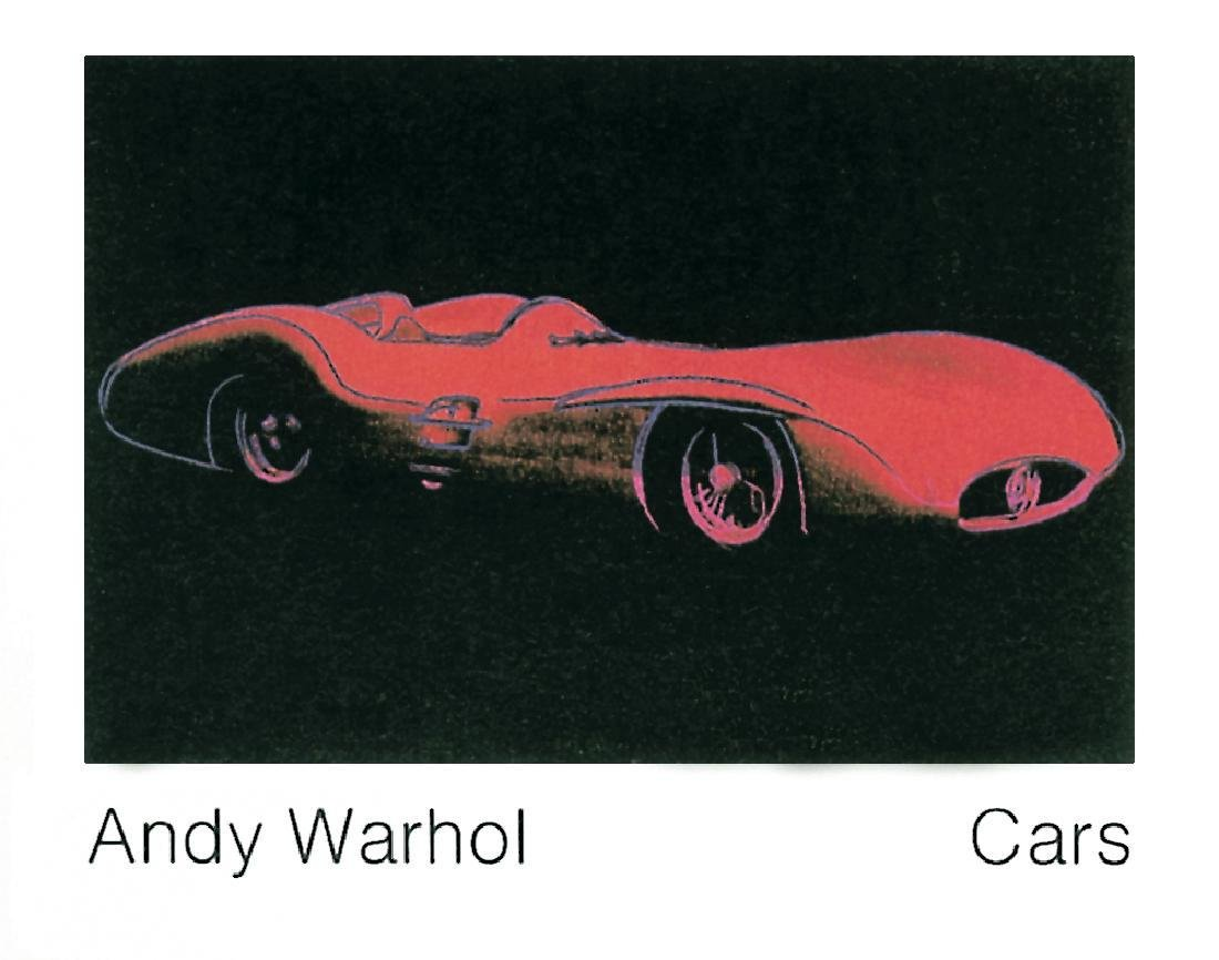 8 Assorted Andy Warhol Car Posters - 7