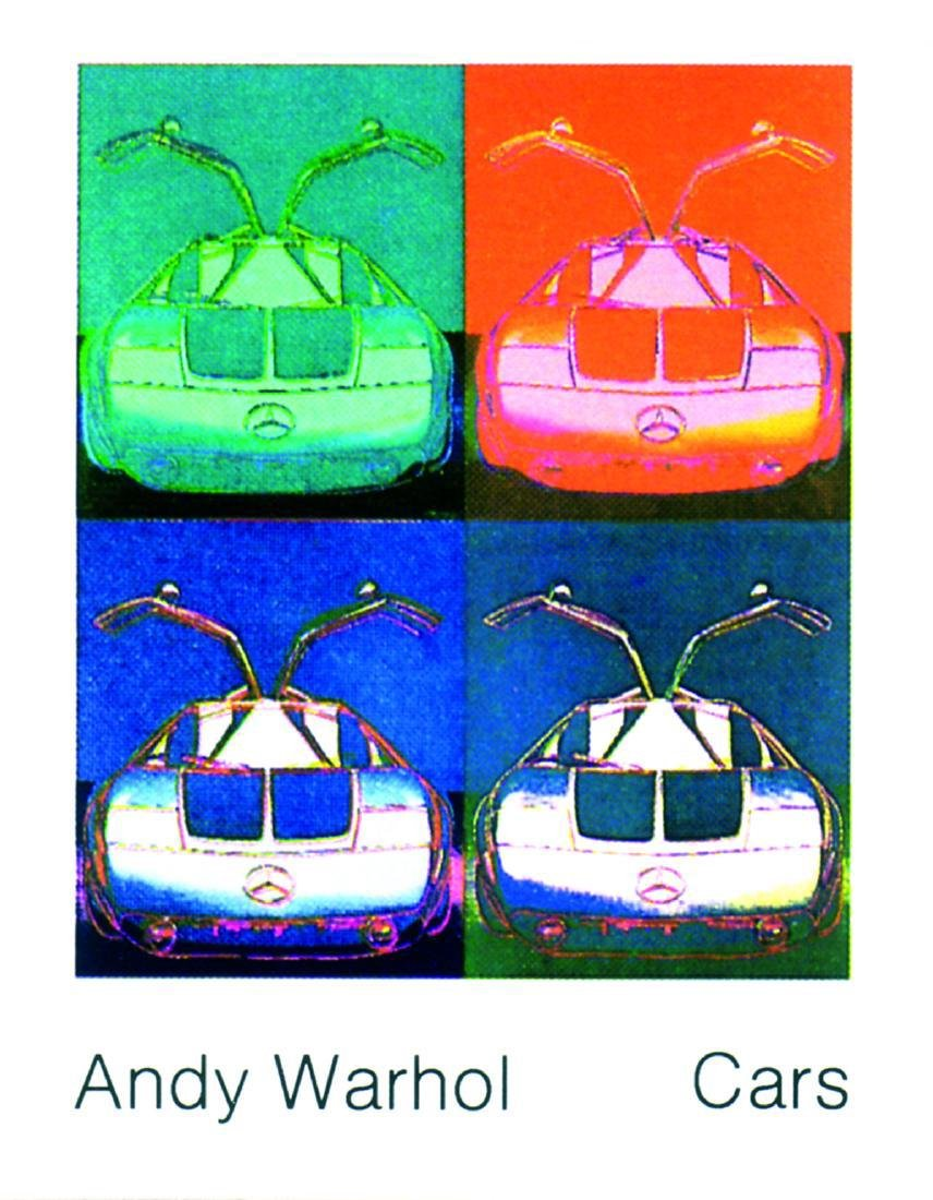 8 Assorted Andy Warhol Car Posters - 8