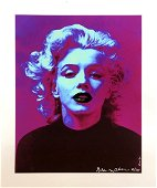 Gilda Oliver Marilyn Prints (Pink) Giclee Print