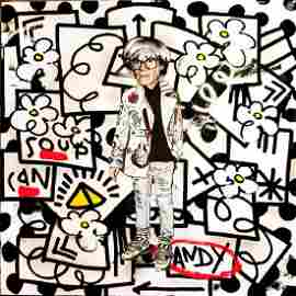 The Producer BDB & Flore-Andy (Pearl) Painting