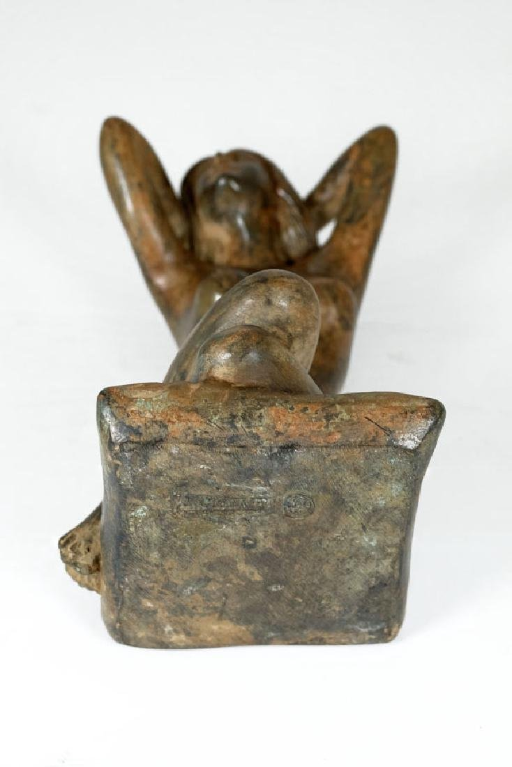 Pierre Chenet, Bronze Sculpture of a Female Nude - 10