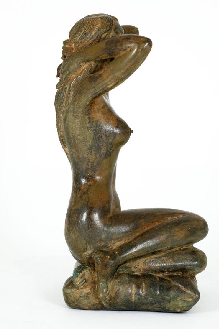 Pierre Chenet, Bronze Sculpture of a Female Nude - 3