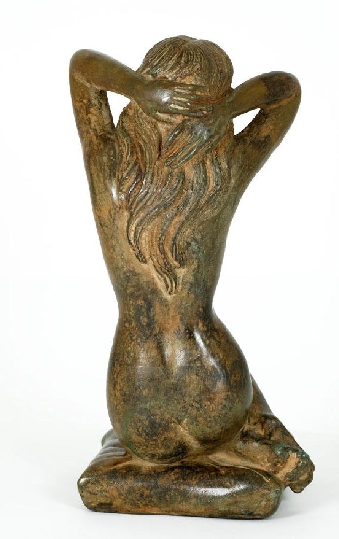 Pierre Chenet, Bronze Sculpture of a Female Nude - 4