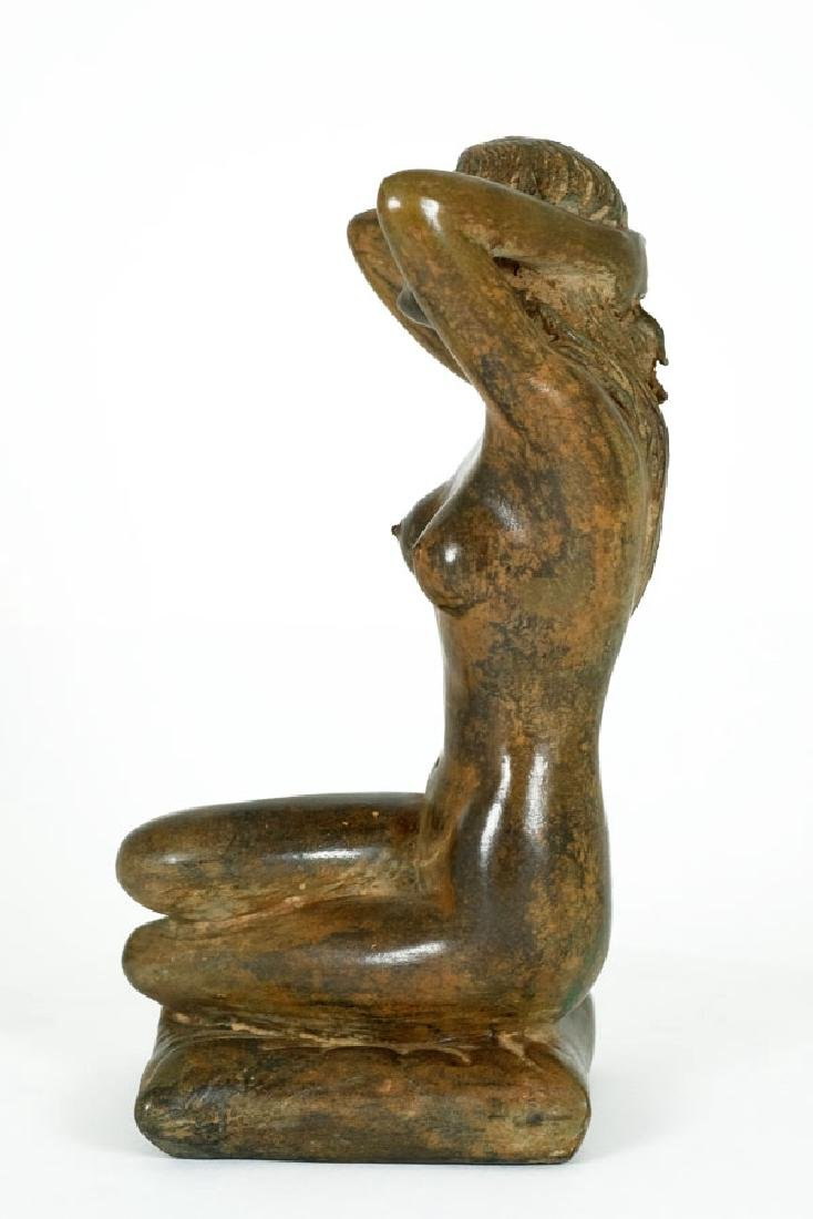Pierre Chenet, Bronze Sculpture of a Female Nude - 6