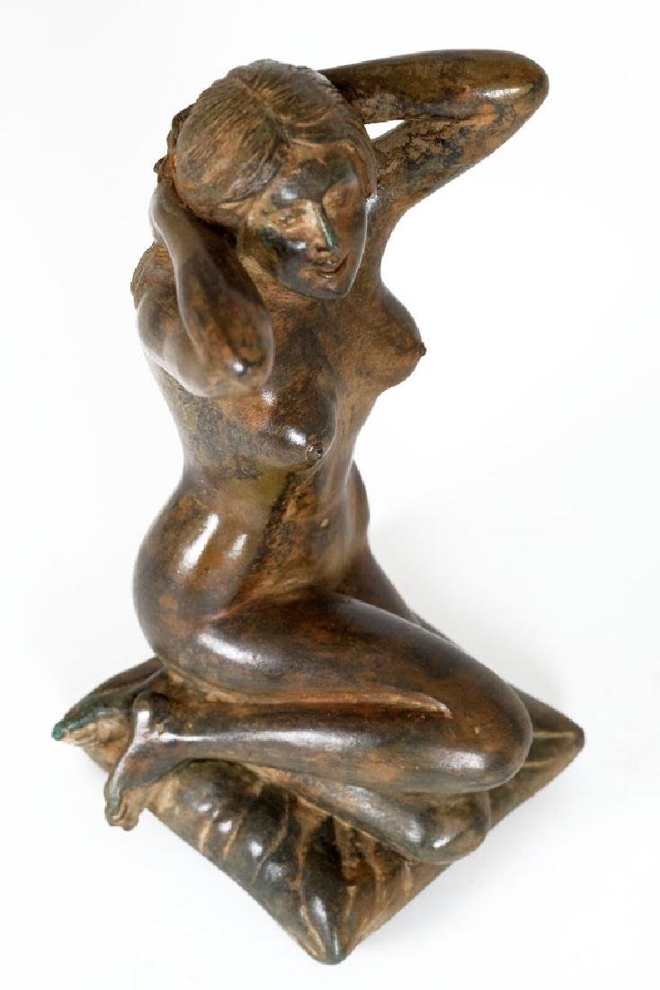 Pierre Chenet, Bronze Sculpture of a Female Nude - 7