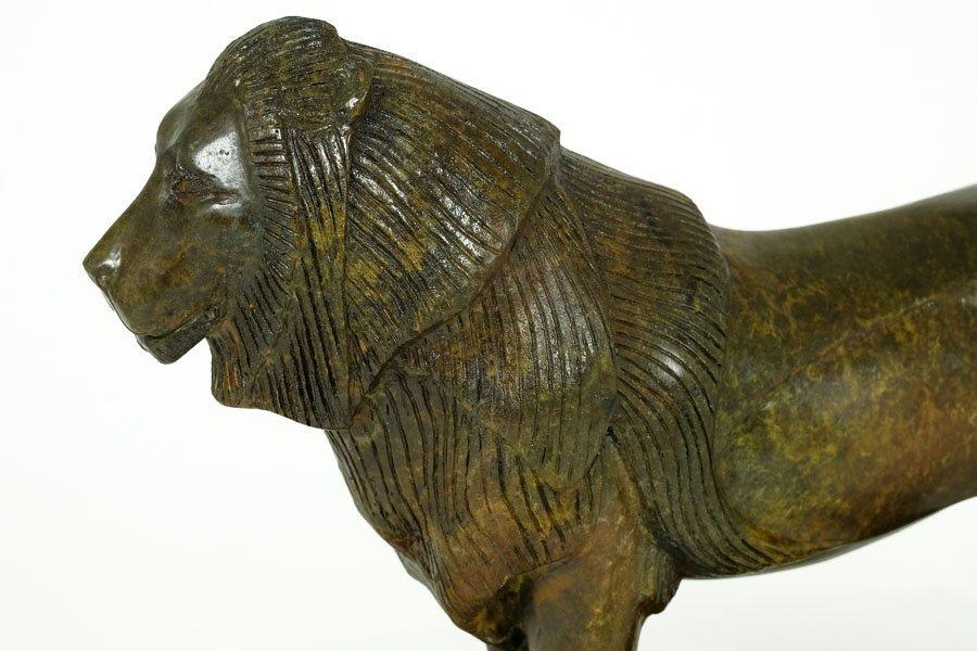 Bronze Sculpture, 'Lion de Nubie' - 6
