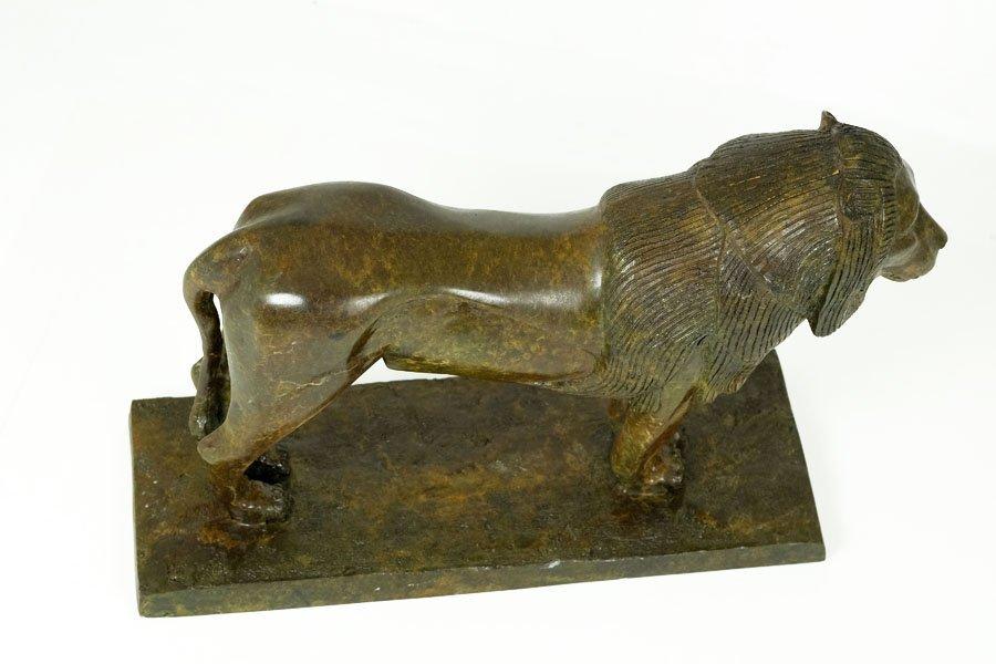 Bronze Sculpture, 'Lion de Nubie' - 7