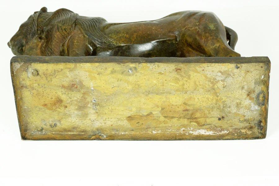 Bronze Sculpture, 'Lion de Nubie' - 9