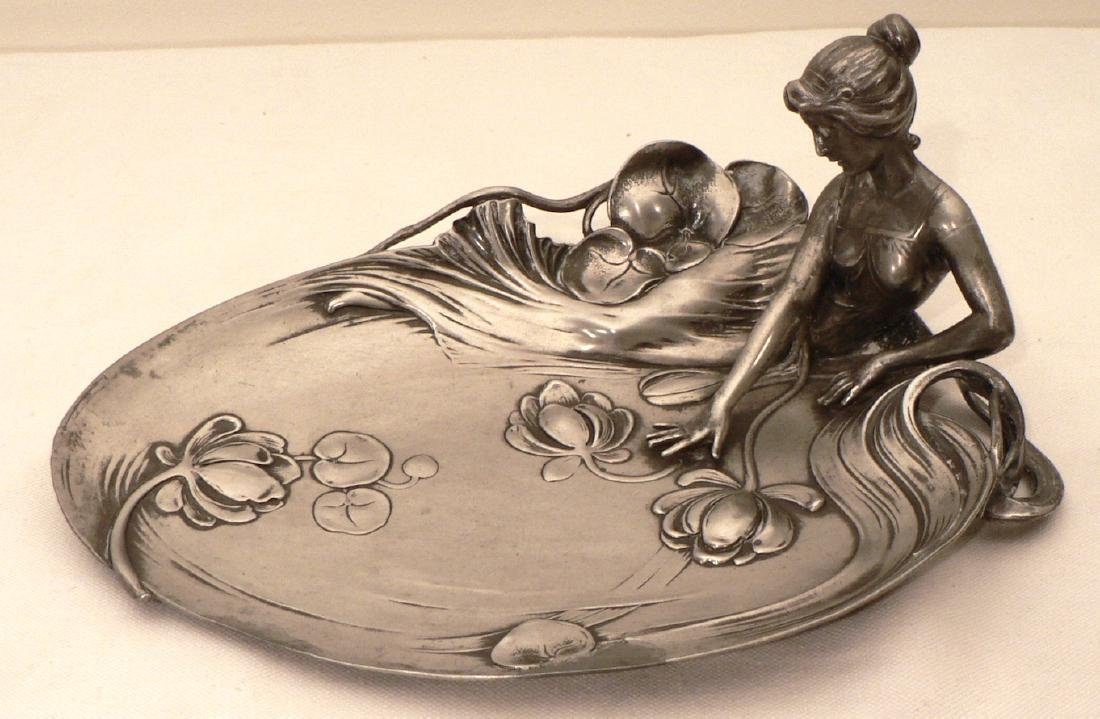 WMF Art Nouveau Figure of Young woman