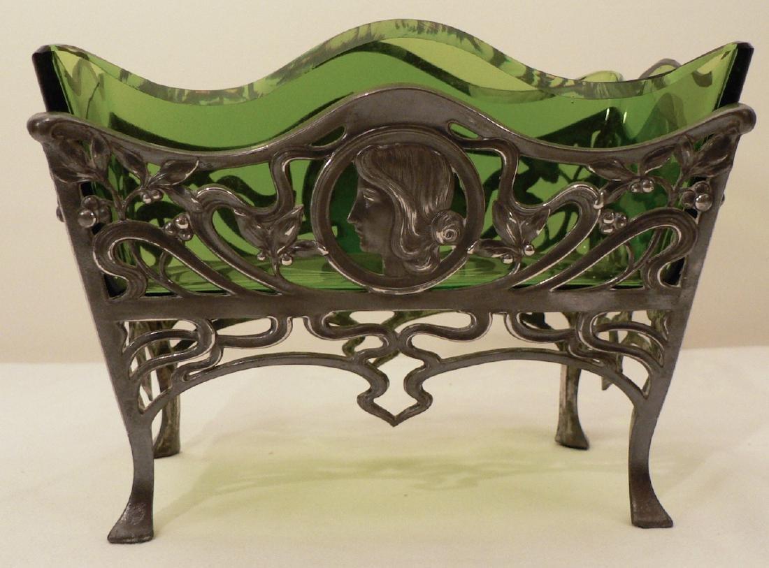 WMF Art Nouveau Fruit bowl w/ Glass Liner