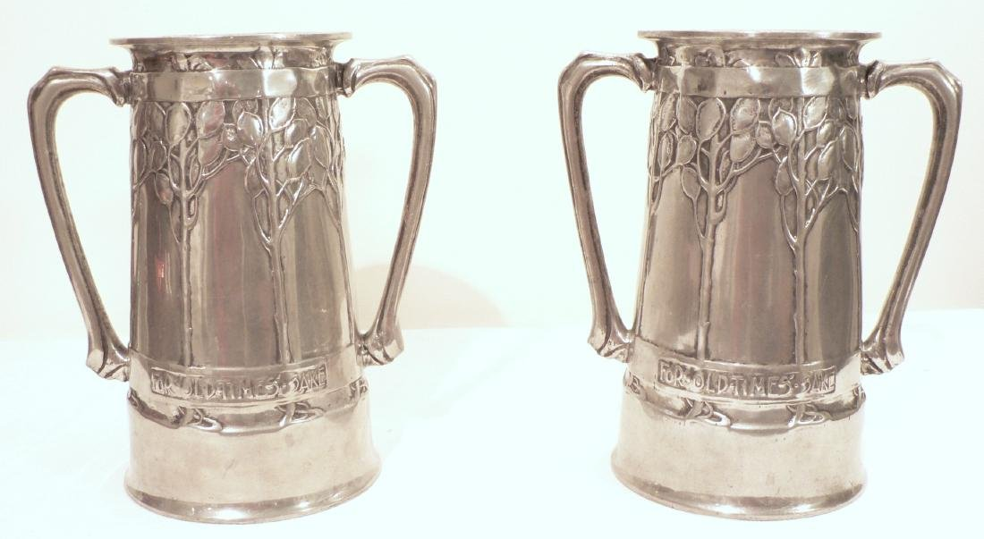 2 Liberty Arts & Crafts Matching Vases