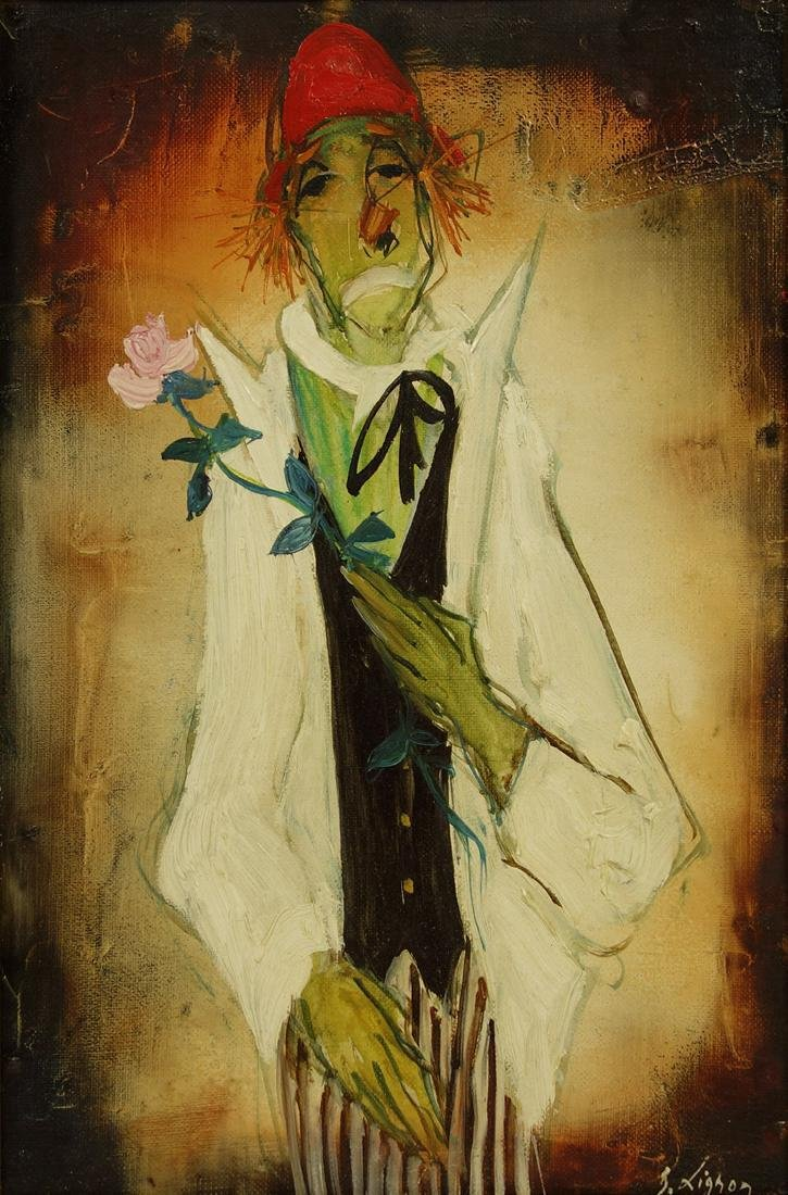 Bernard Lignon Oil on Canvas Painting