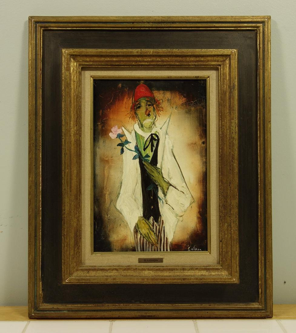 Bernard Lignon Oil on Canvas Painting - 2