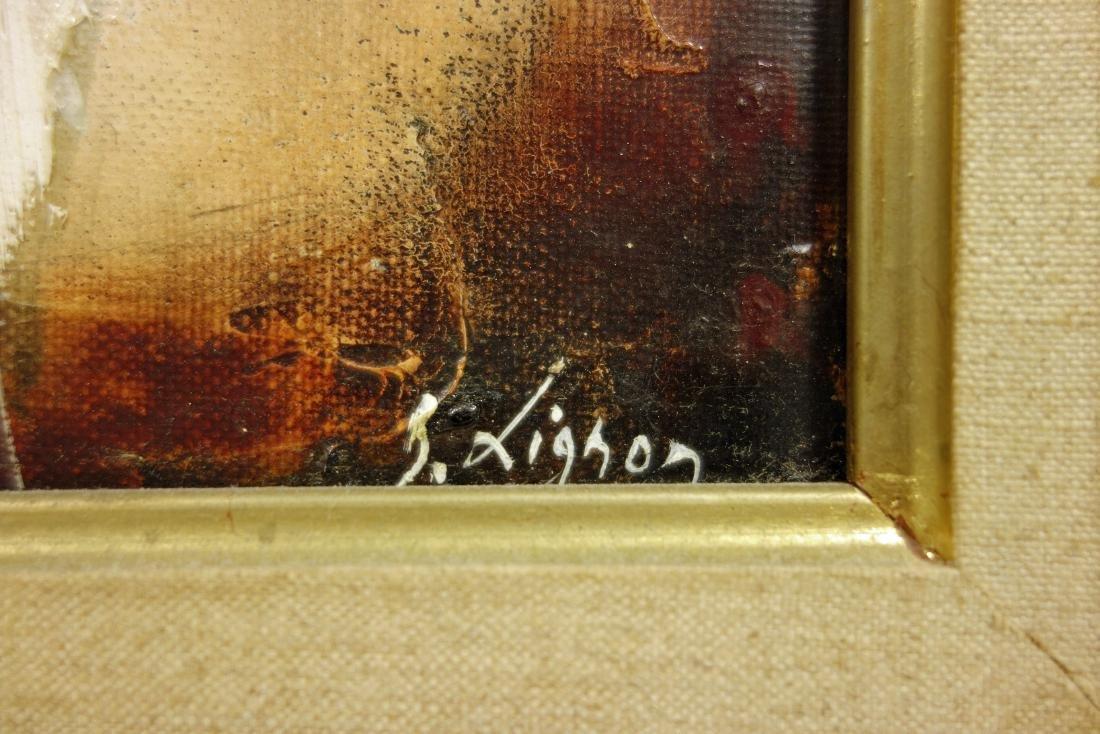 Bernard Lignon Oil on Canvas Painting - 6