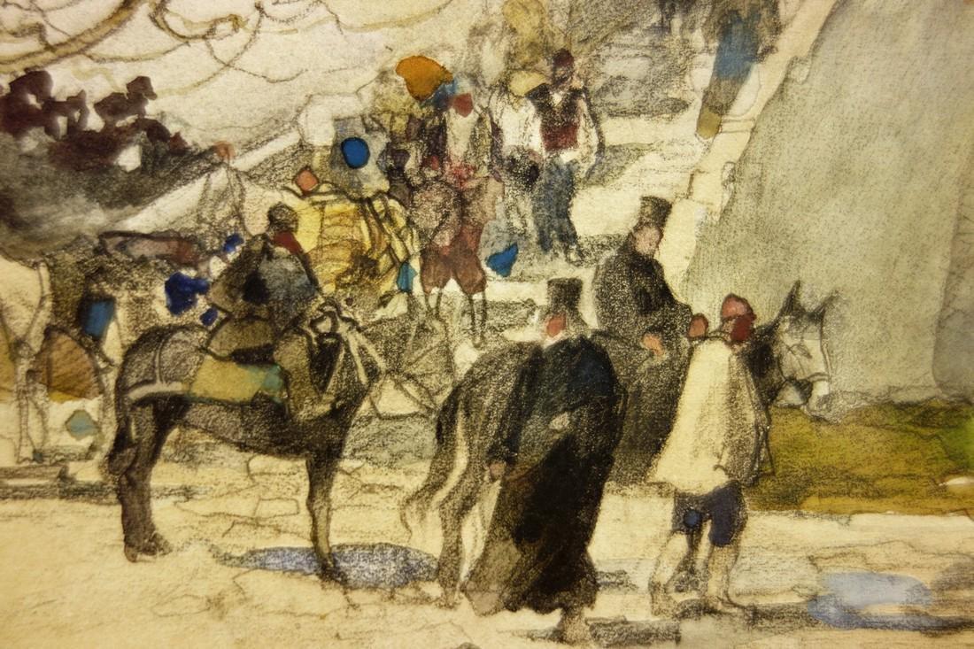 Georgis Antonowitsch Kossjakoff  Watercolor Painting - 3