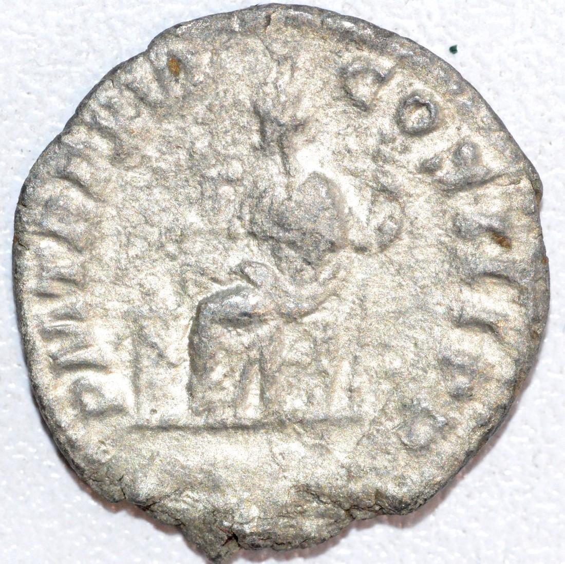 Ancient Roman Silver Denarius of Emperor Septimus - 2