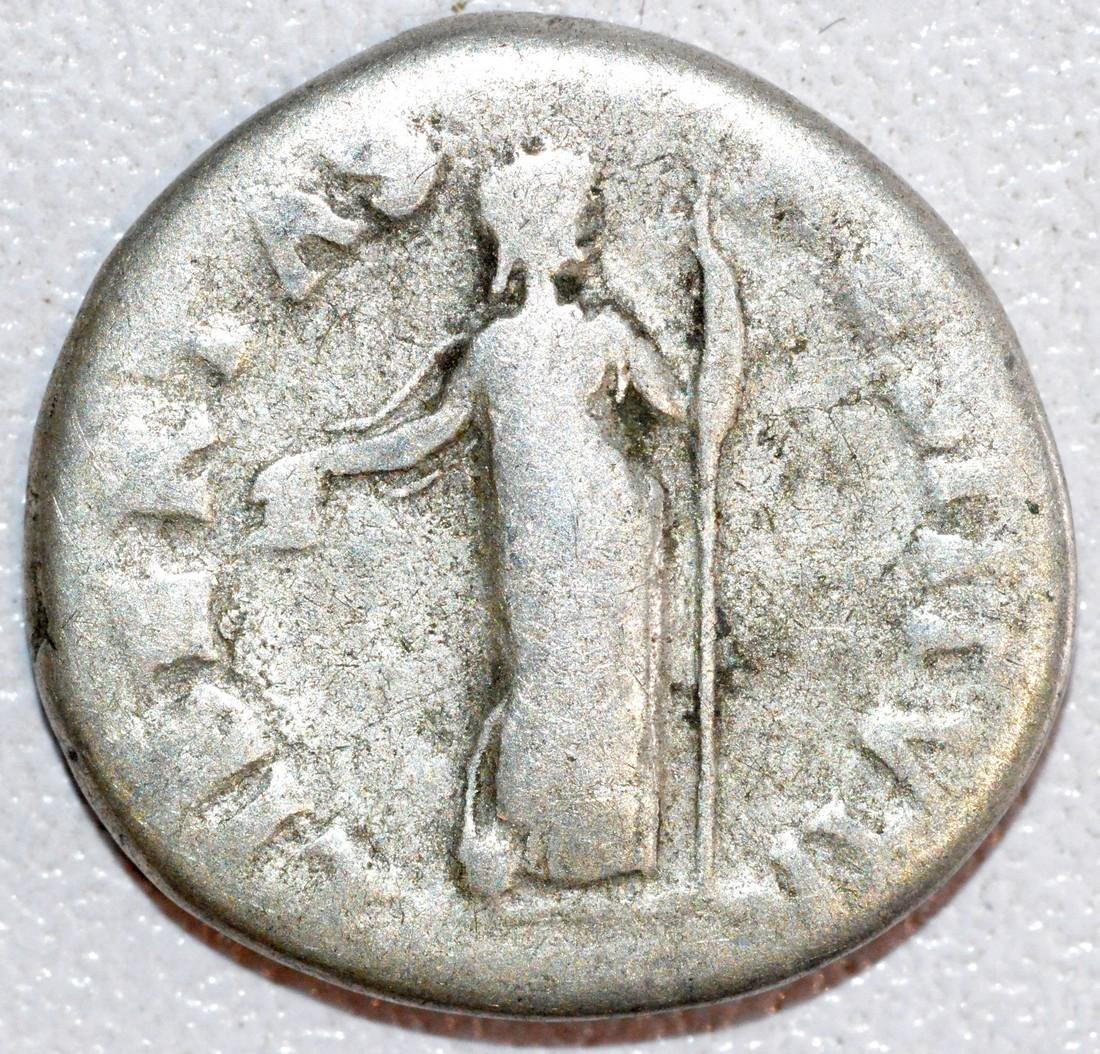 Rare Ancient Roman Silver Denarius of Emperor Vitellius - 2
