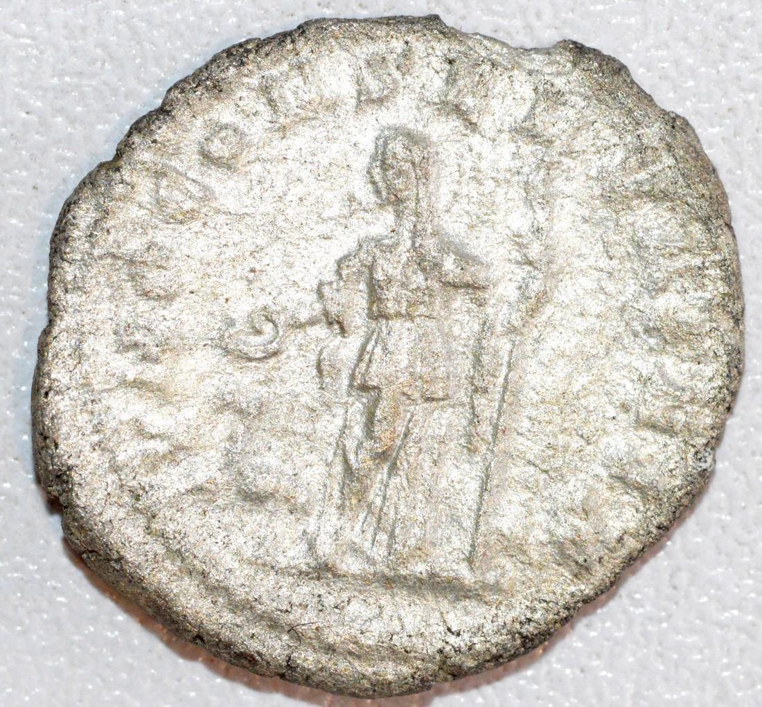 Ancient Roman Silver Denarius of Empress Julia Maesa - 2