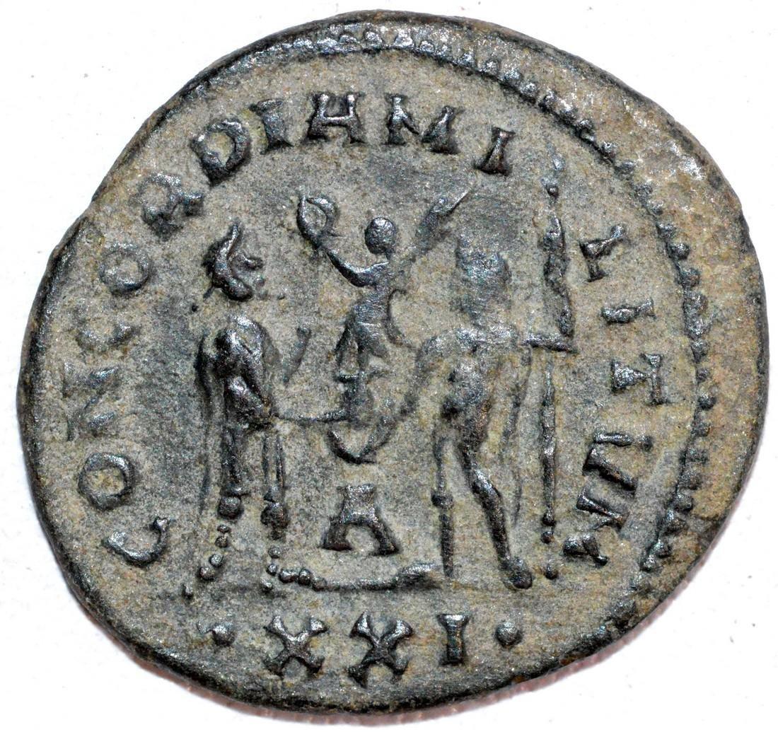 Ancient Roman Copper Antoninianus of Emperor Maximian - 2