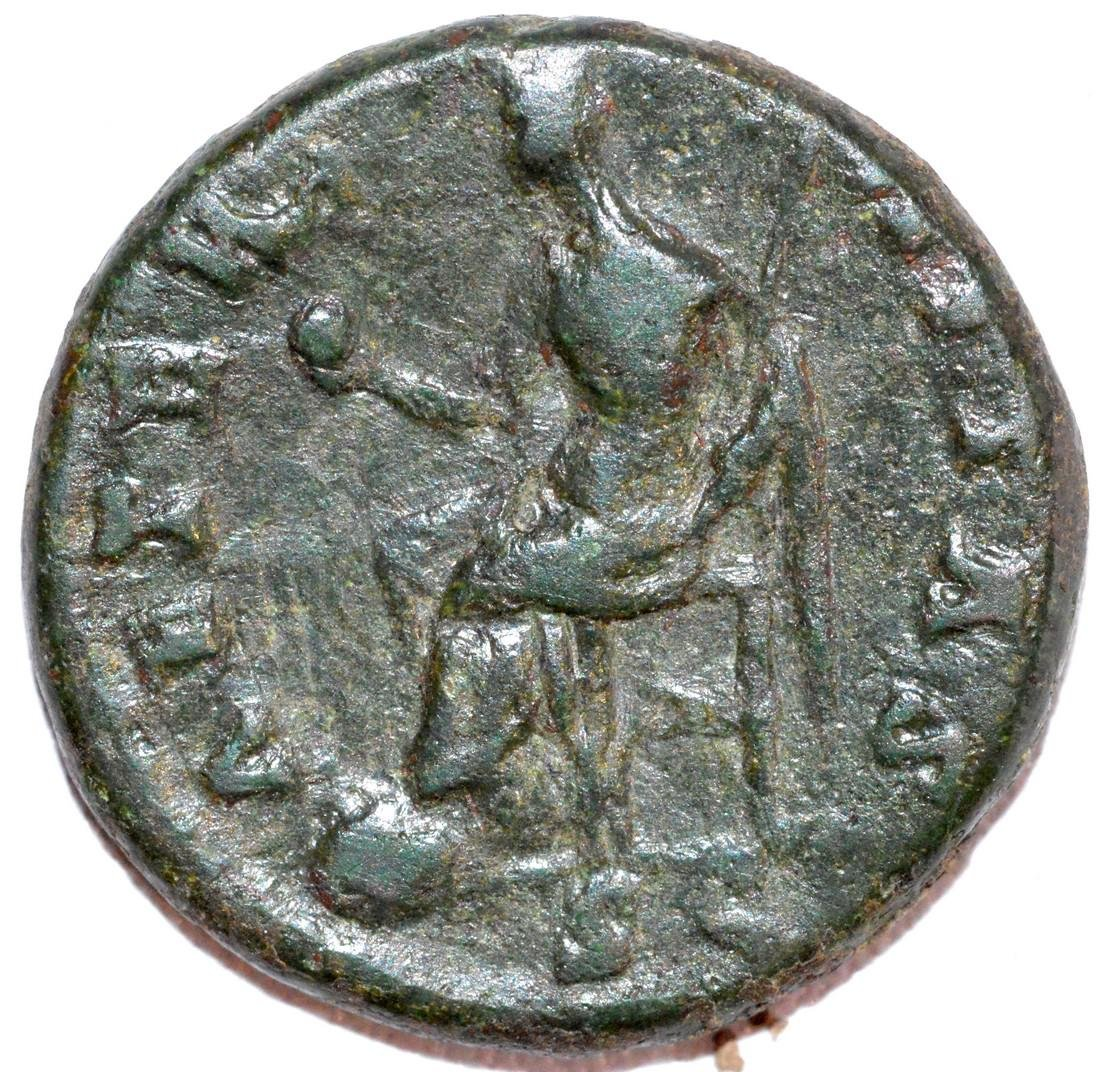 Rare Ancient Roman Copper AS of Empress Faustina - 2