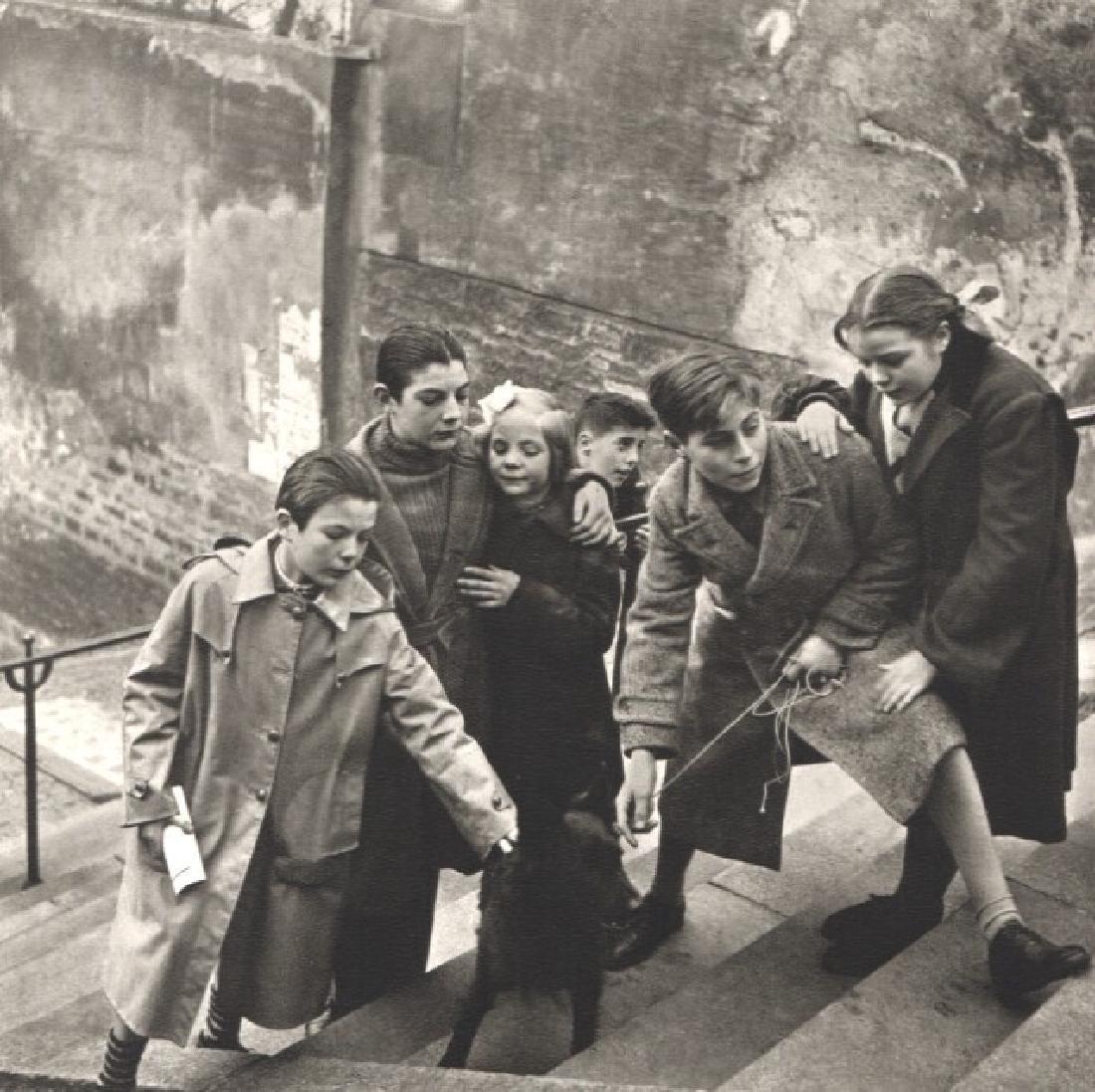 EDOUARD BOUBAT - Paris, 1949, Montmartre