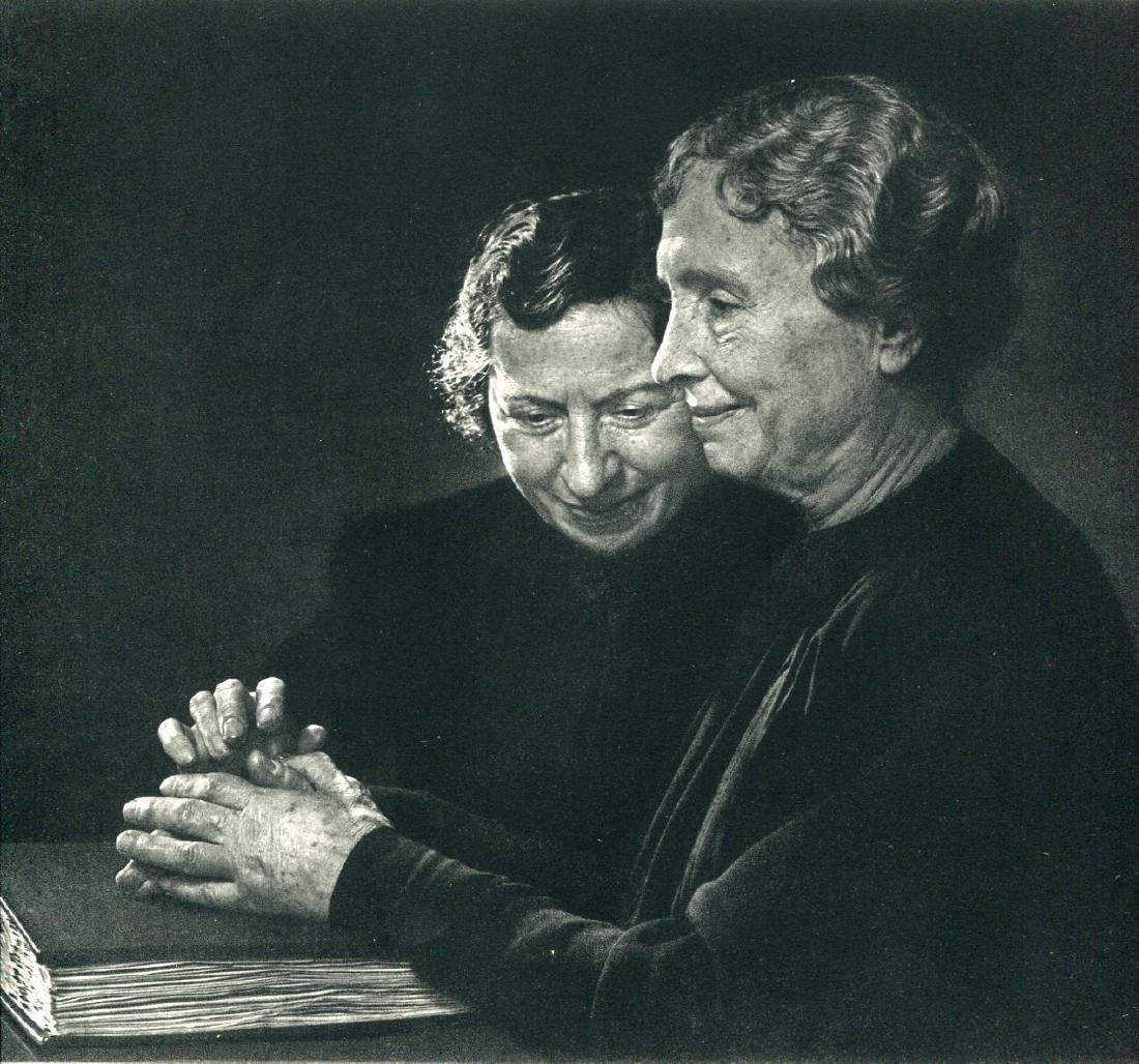 YOUSUF KARSH - Helen Keller