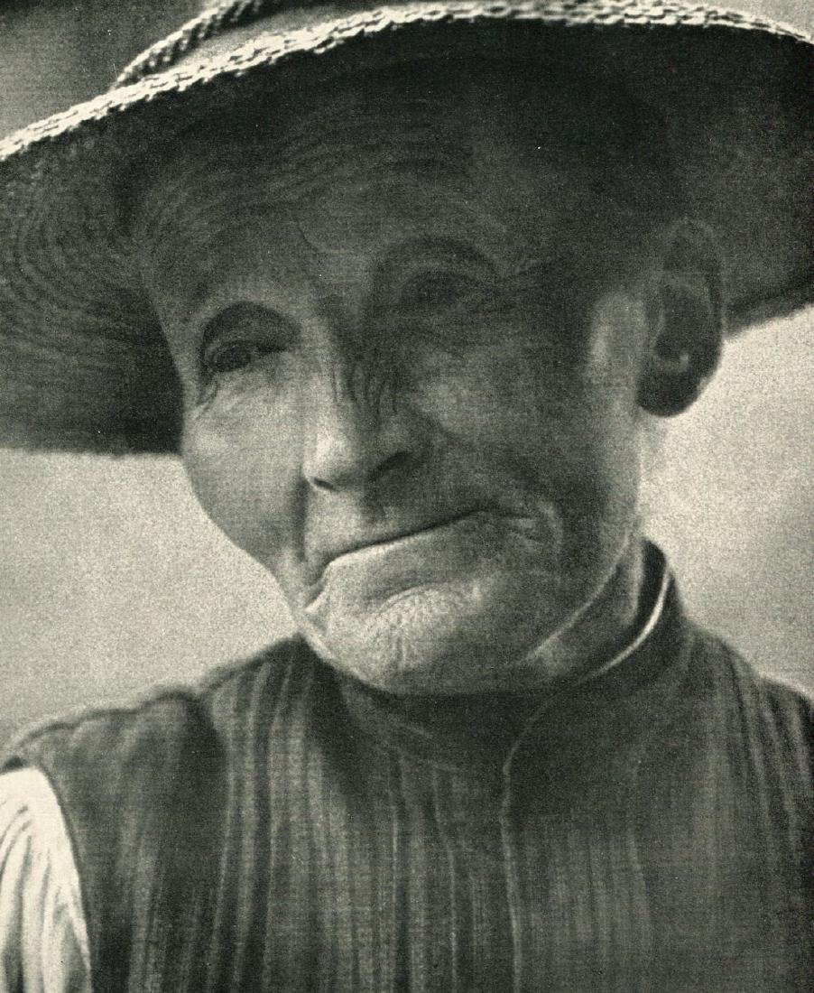RUDOLF KOPPITZ - Country Woman East Tyrol