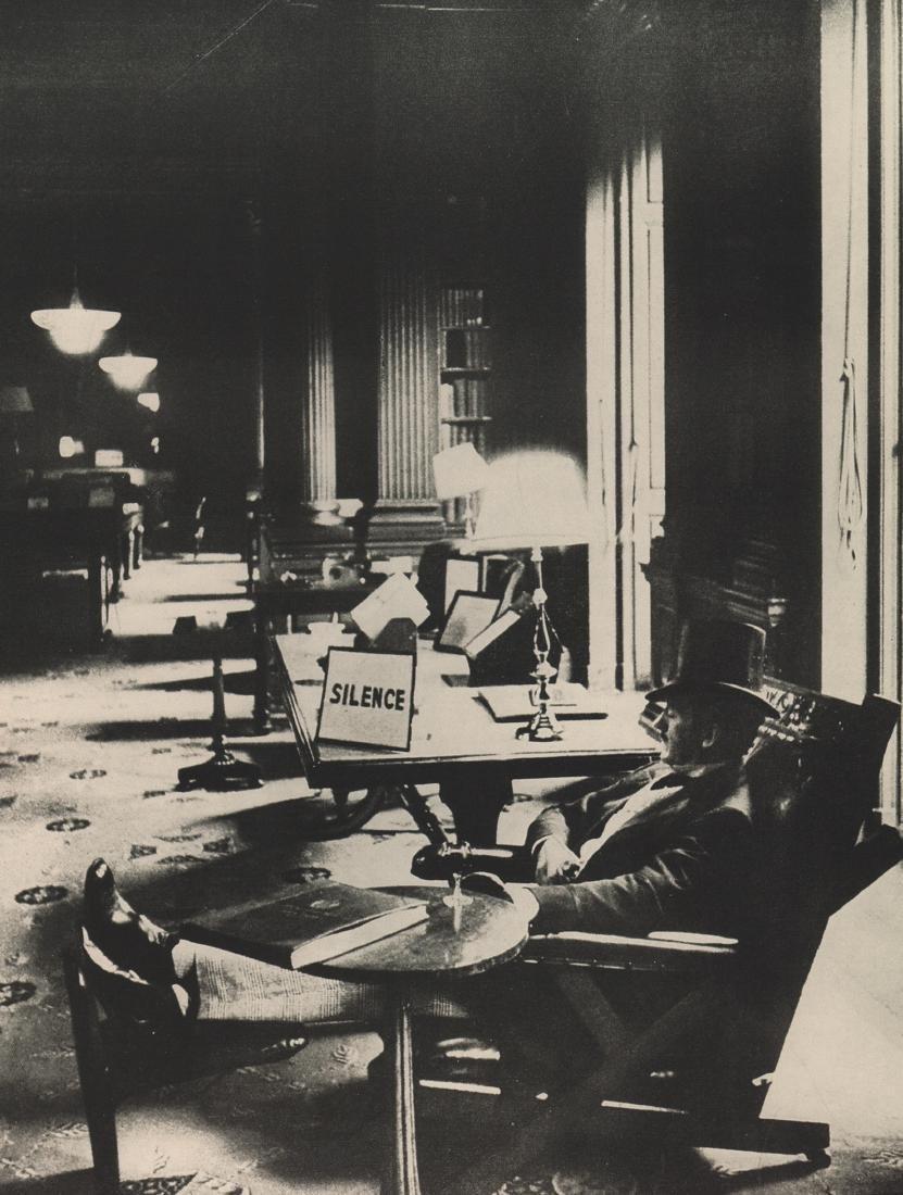DAVID SEYMOUR - Silence 1956