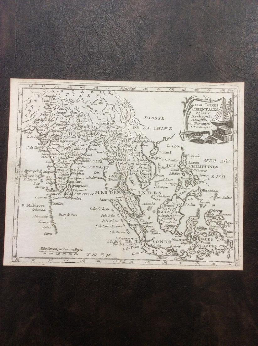 de LaPorte: Antique Map of India & Southeast Asia, 1787