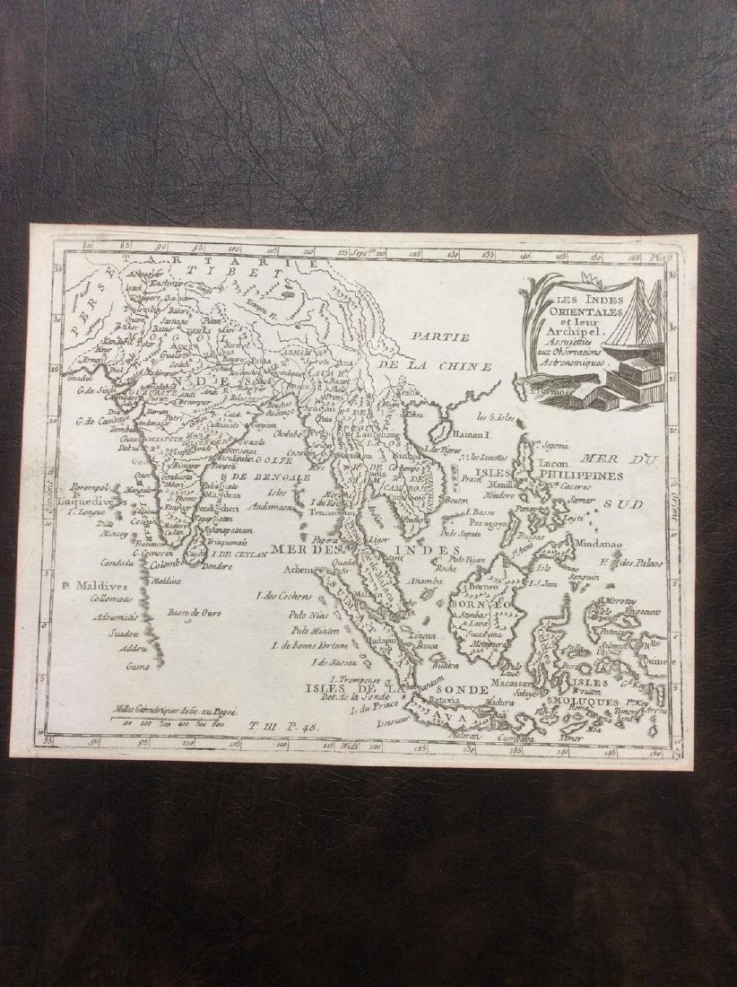 de LaPorte: Antique Map of India & Southeast Asia, 1787