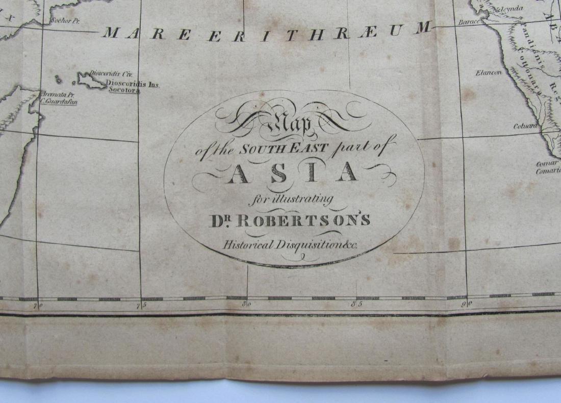 Antique Map of India, 1812 - 2