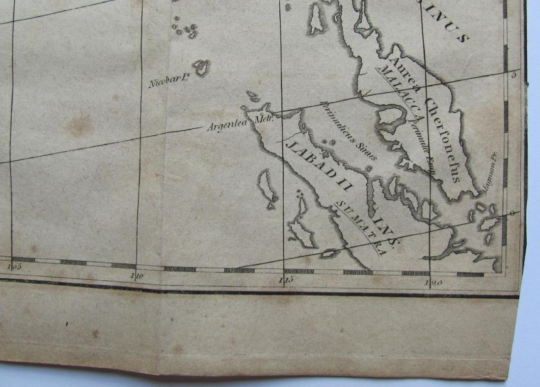 Antique Map of India, 1812 - 3