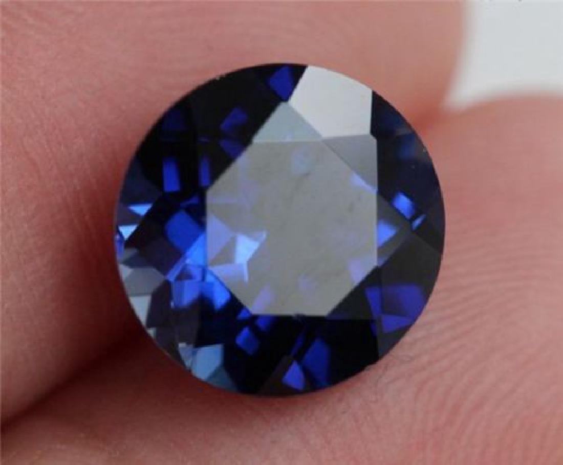 3.70 Carat Royal Blue Loose Tanzanite
