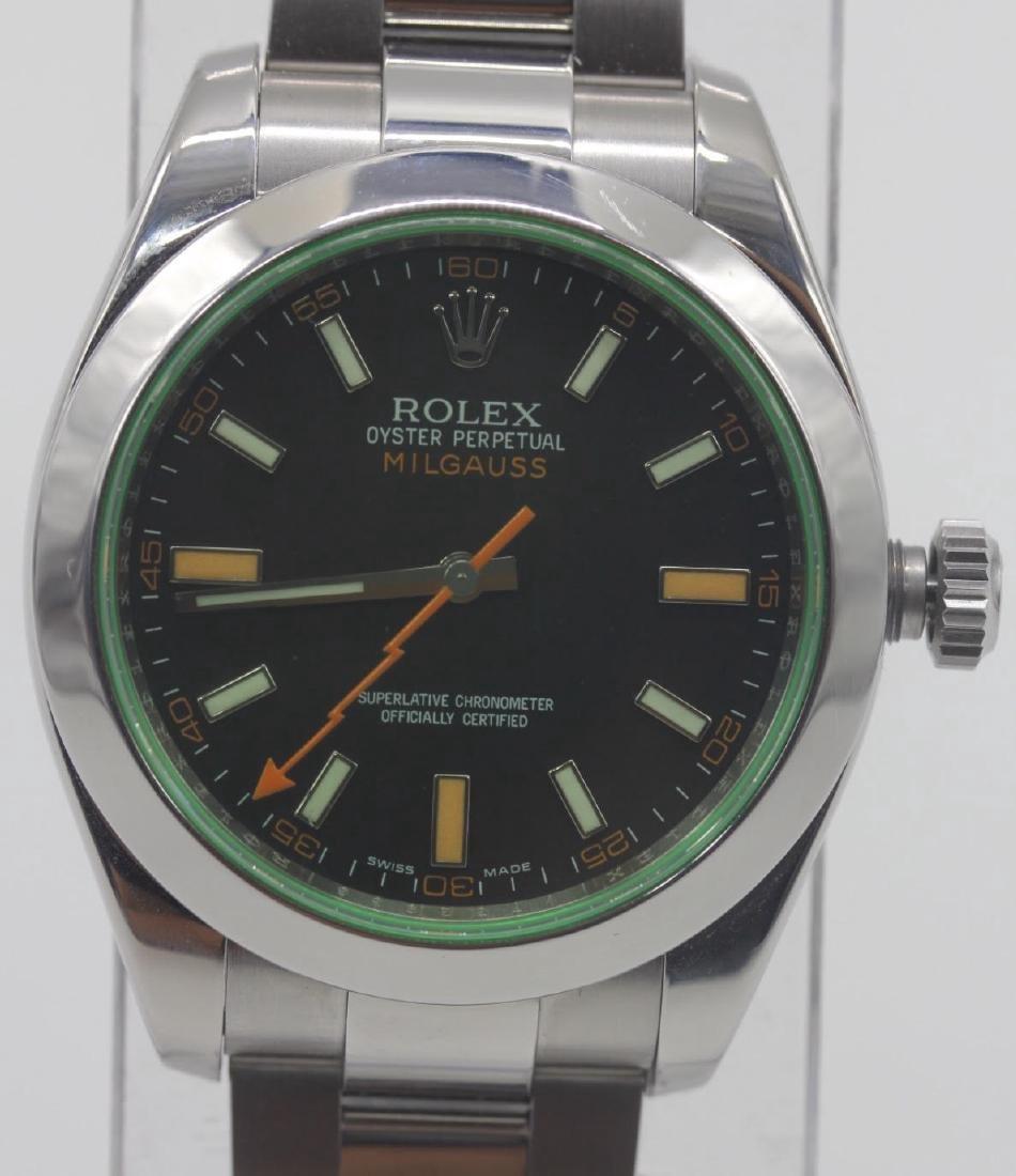 Rolex Oyster Perpetual Milgauss Men's Wristwatch - 3