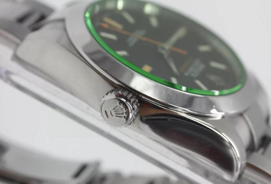 Rolex Oyster Perpetual Milgauss Men's Wristwatch - 7