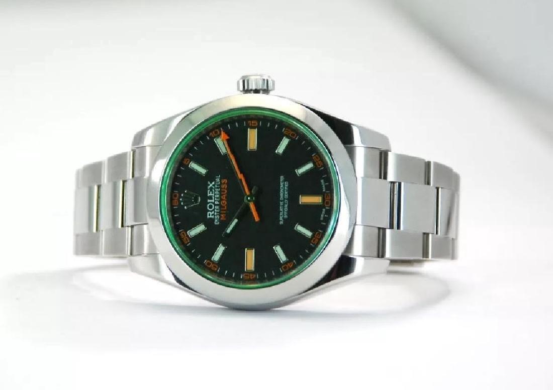 Rolex Oyster Perpetual Milgauss Men's Wristwatch - 8