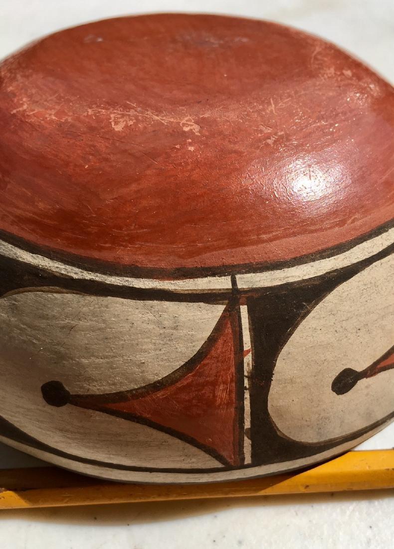 Southwest Indian Acoma Pueblo Pottery Bowl - 2