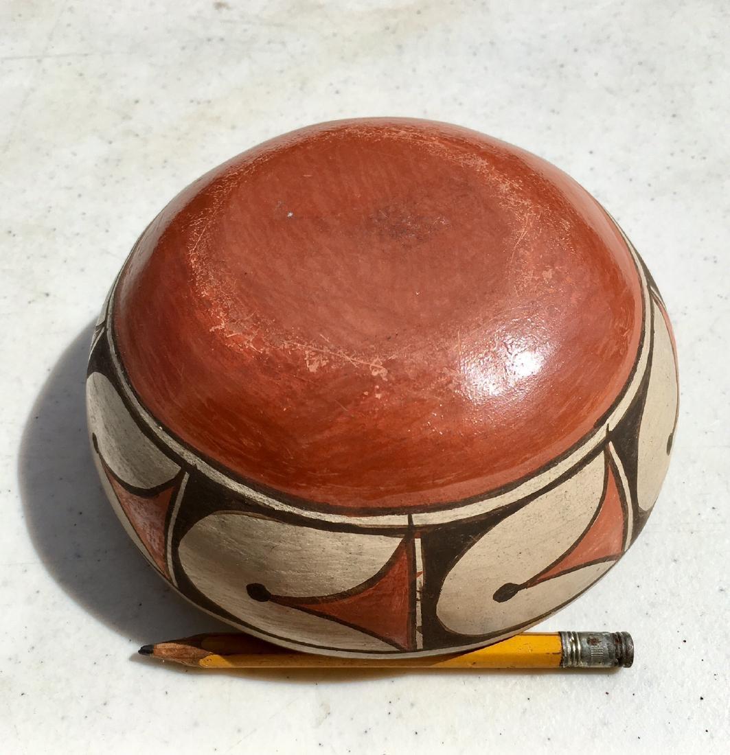 Southwest Indian Acoma Pueblo Pottery Bowl - 3