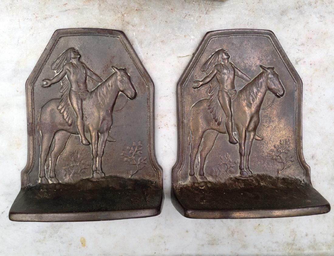 Pair of Indian Bookends Early 20th Century - 4