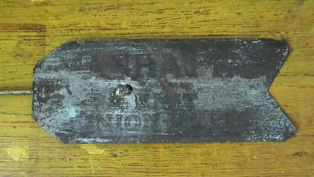 Copper Arrow Weathervane Mid 20th Century - 4