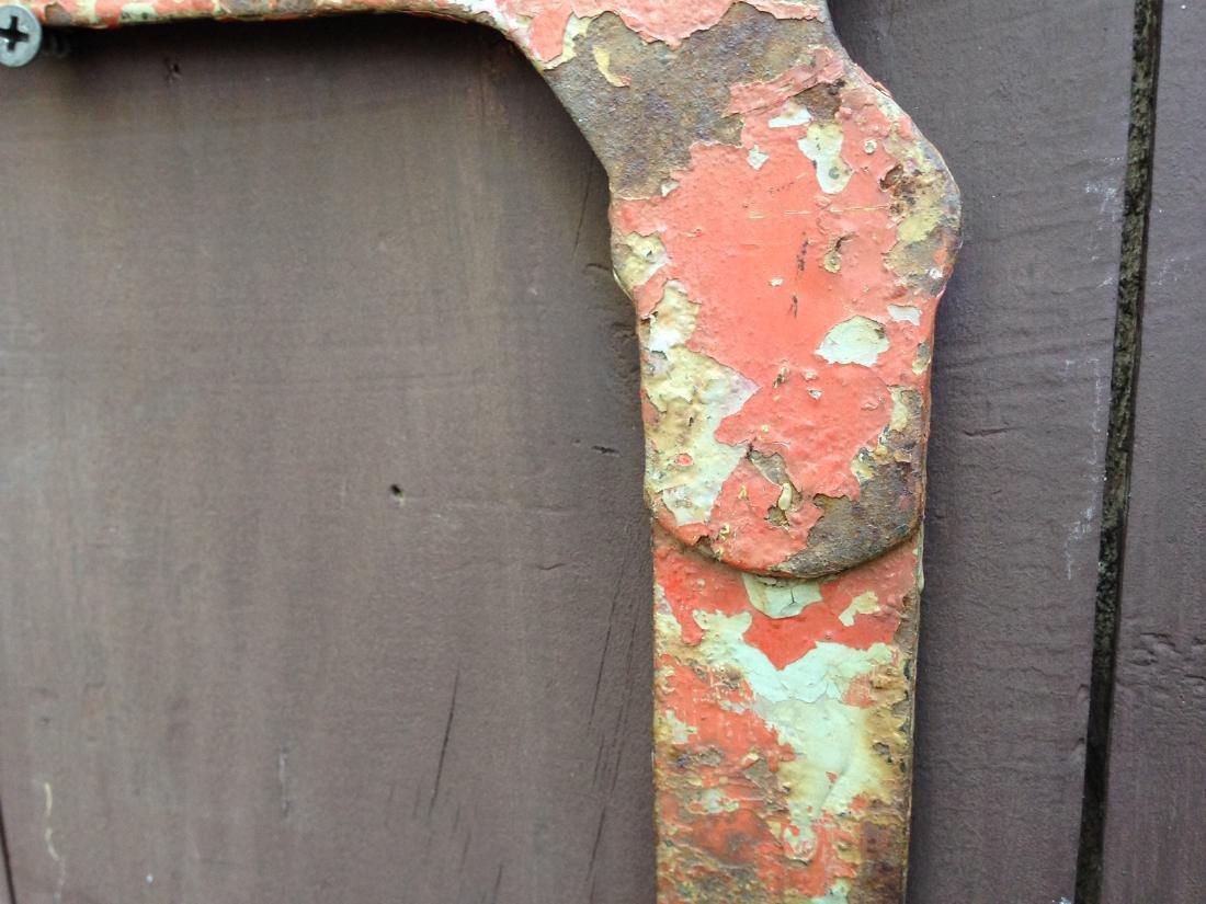 Vintage Sheet Iron Dachshund Boot Scrapper 20th Century - 4