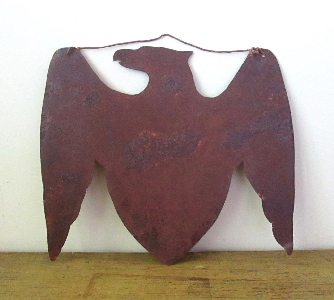 Early Patriotic Eagle Sign Late 19th Century - 9