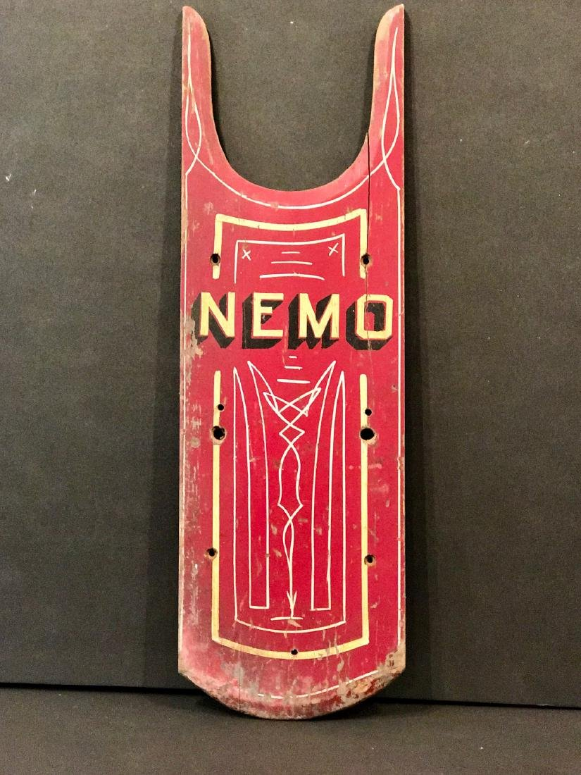 Antique Nemo Sled Top, Circa 1880