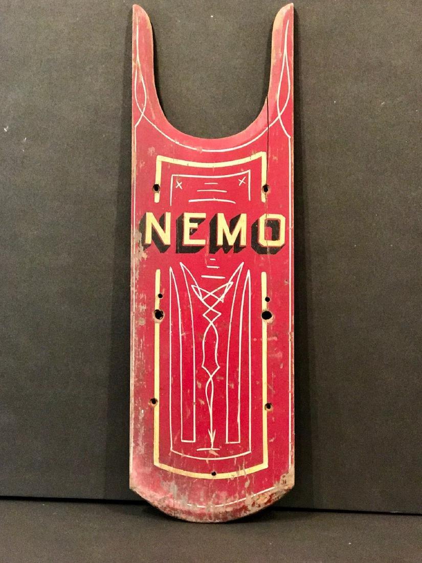 Antique Nemo Sled Top, Circa 1880