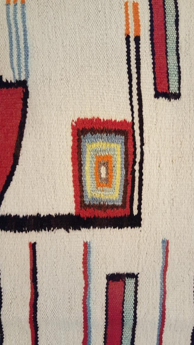 Vintage Rare Large Navajo Yei Rug Circa 1940 - 5