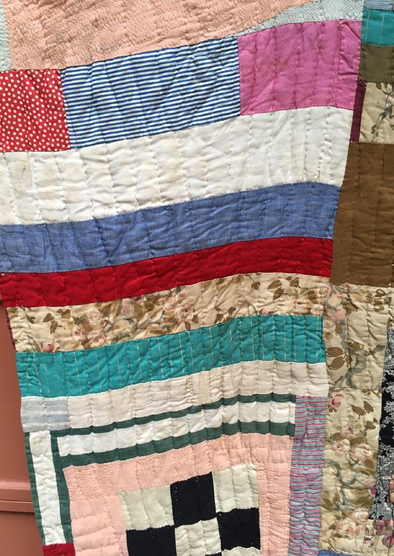 African American Quilt 1940's Mississippi - 4