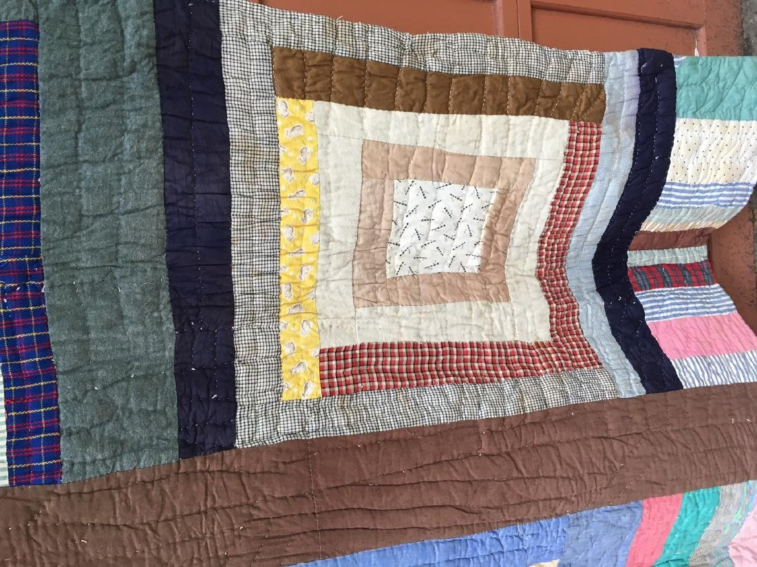 African American Quilt 1940's Mississippi - 6