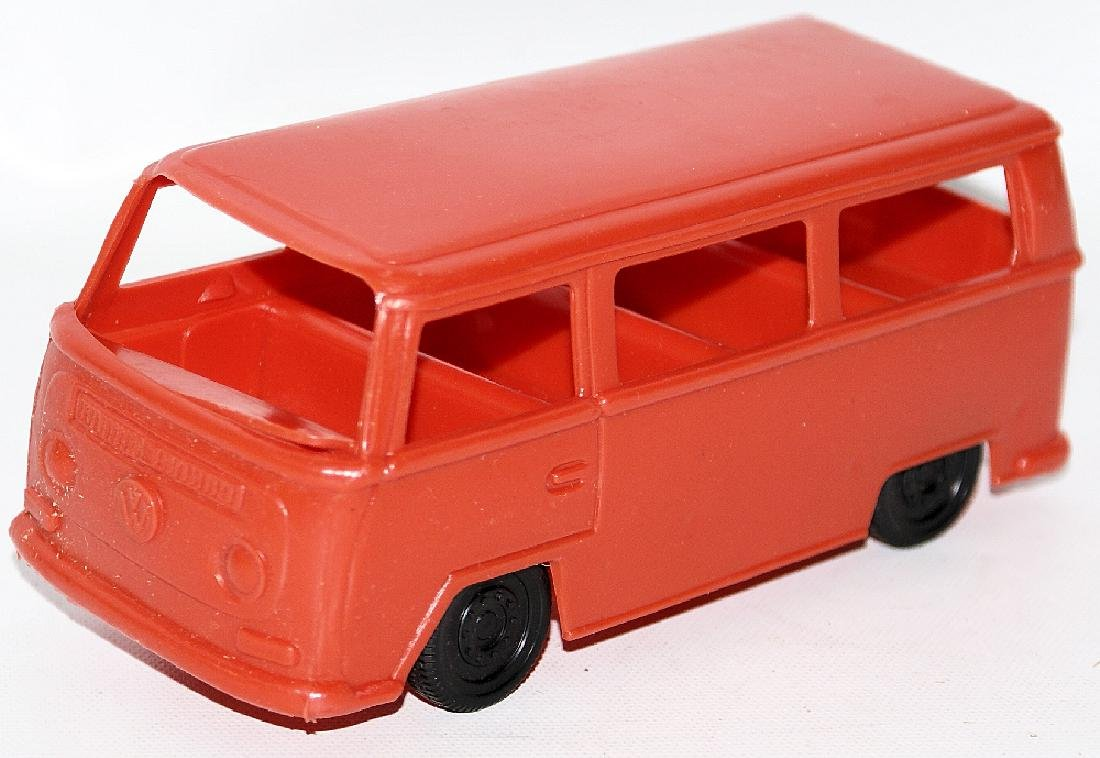 Vintage FRANKONIA CANDY CONTAINER Toy VW Bus Kombi